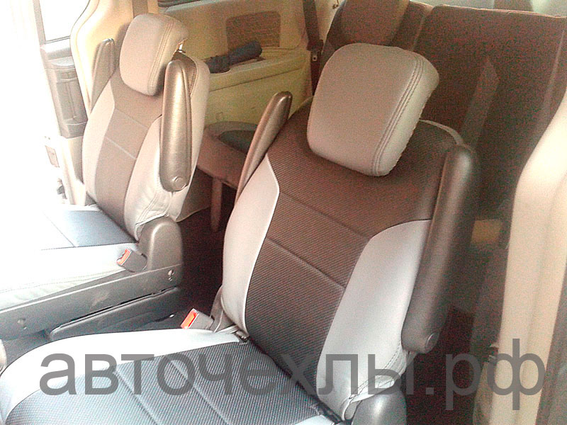 авточехлы на Chrysler Grand Voyager 2