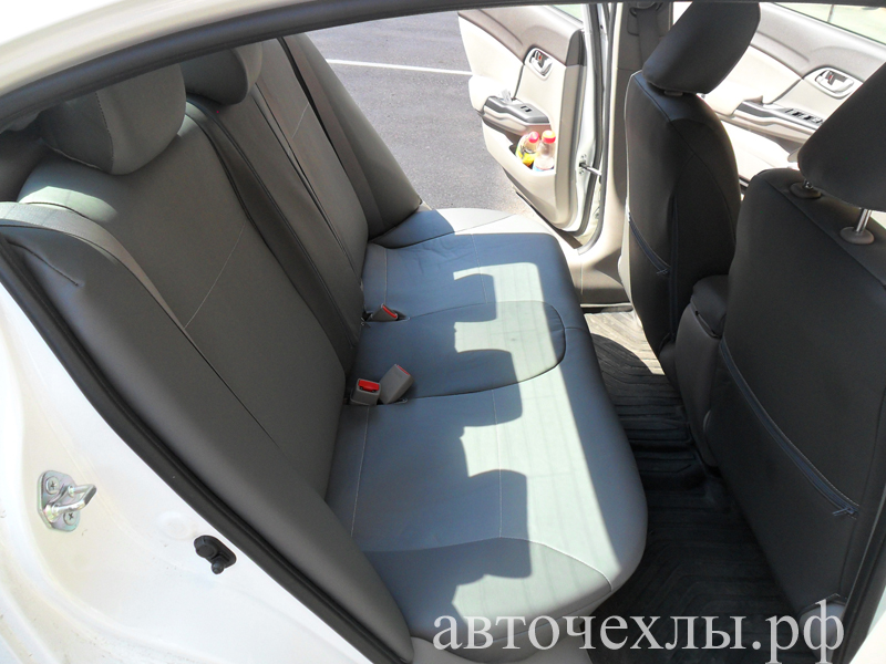 авточехлы на Honda Civic 4D 2