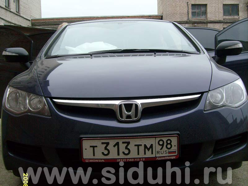 авточехлы на Honda Civic 4D 4