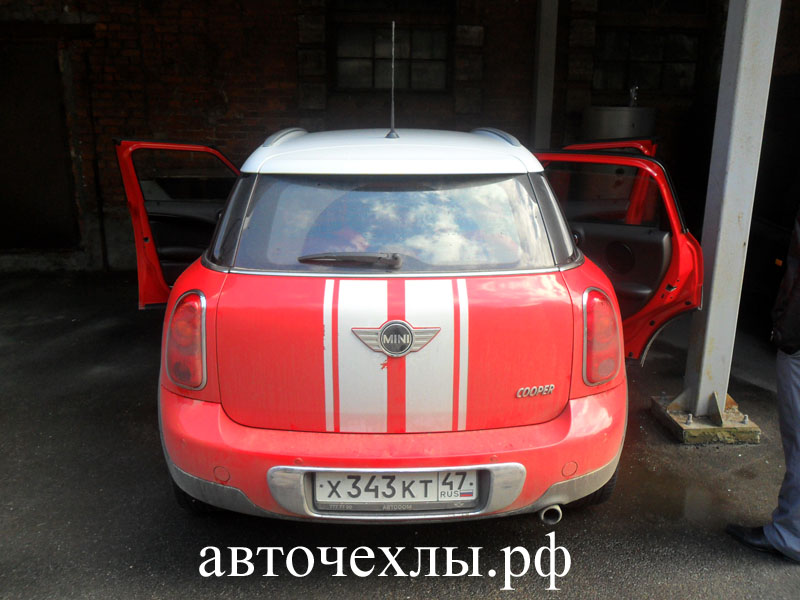 авточехлы на MINI Countryman 4