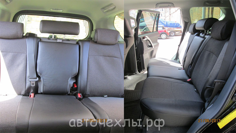 авточехлы на Toyota Land Cruiser 1