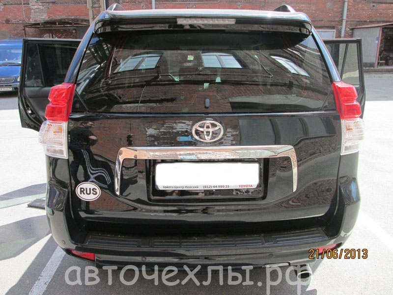 авточехлы на Toyota Land Cruiser 3