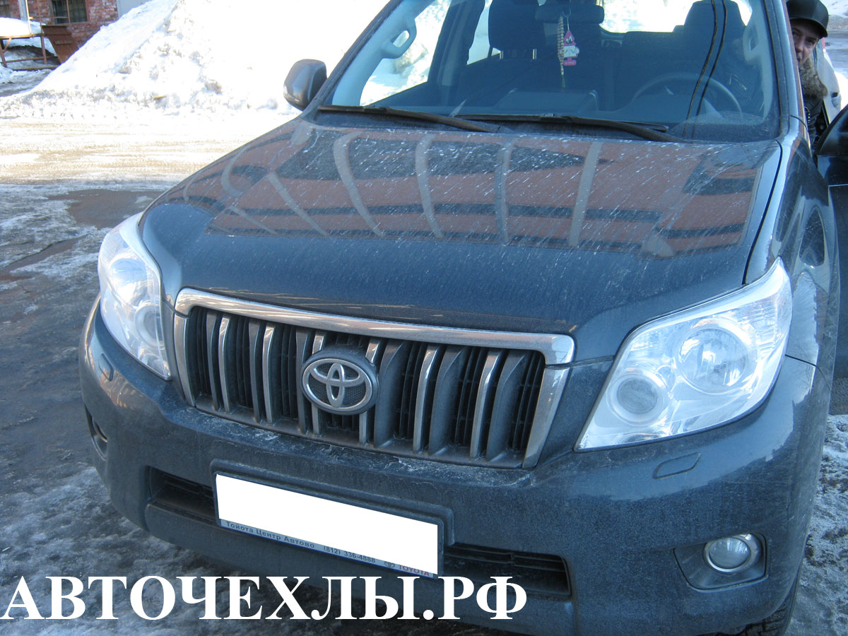 авточехлы на Toyota Land Cruiser 4